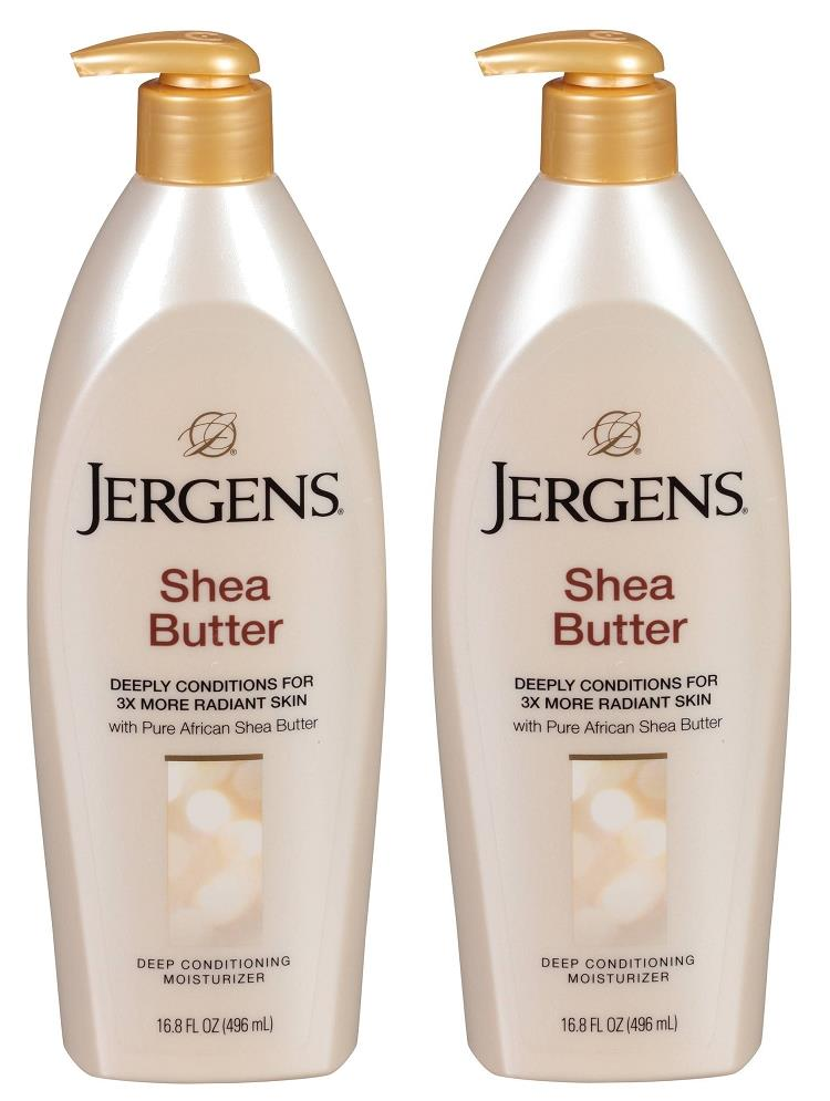 Details about SET OF TWO Jergens Shea Butter Deep Conditioning Moisturizer 16.8oz 496ml