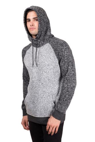 Black Marl Gray Brooklyn Surf Men/'s Sherpa Cozy Knit Zip Hoodie S M L XL XXL